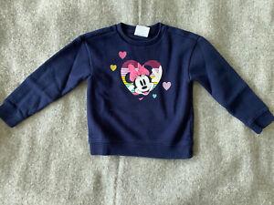 Gap Girl Sweatshirt XS 4-5 Minnie Mouse