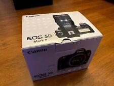 Canon EOS 5D Mark II 21.1 MP DSLR Camera - Black (Body Only) + 1 battery