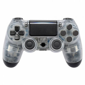 PS4 Controller Cover Case Gehäuse Front Transparent Slim Pro JDM-040 (LED MODS)