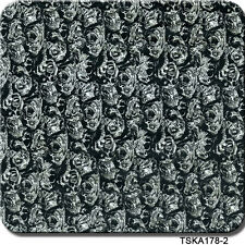 "Hydrographics Film Zombie Pack Black & White 20"" x 6. Film Zombie Pack 39"" x 39"""