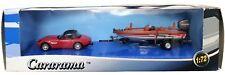 1:72 Scale Cararama BMW Z8 Cabriolet & Speedboat - BNIB