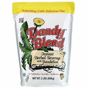 Instant Herbal Beverage with Dandelion, Caffeine Free, 2 lbs (908 g)