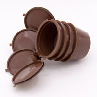 Refillable Coffee Capsule Cup For Nescafe Dolce Gusto Reusable Filter Pod Kits