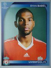 Panini 345 Ryan Babel Liverpool FC UEFA CL 2008/09