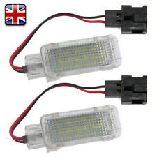 GOLF TIGUAN 18 LED FOOTWELL UNDER DOOR COURTESY BOOT LIGHT LAMP PAIR