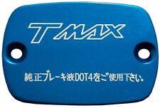 Coppia 2 coperchi pompe freno anteriori YAMAHA T-MAX 500 530 Blu TMAX