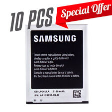 Lot of 10 NEW OEM Samsung Galaxy S 3 III Battery
