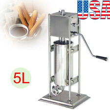 Us5L Commercial Manual Spanish Churro Donut Maker Machine High Quality Stainless
