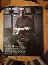 BONHAMS - Clapton Crossroads Guitars Amps Fender Gibson Auction Catalog 2011