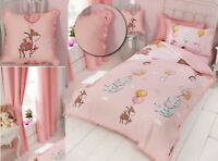 Frilled Reversible Duvet Cover Bedding Bed Set Or Accessories Girls Pink