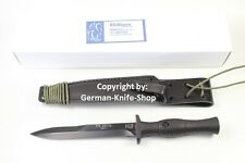 NEW GERMAN EICKHORN FS 2014 COMBAT KNIFE DAGGER WITH SHEATH MADE IN GERMANY *WOW