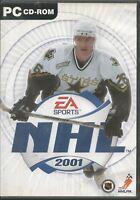 NHL 2001 (PC, 2000, DVD-Box) - komplett mit Anleitung