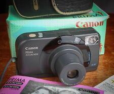 Canon prima zoom mini compact superbe avec boite étui mode d'emploi