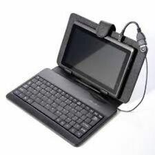 PU Leather Bluetooth Keyboard Keypad Case & LCD Guard For Apple iPad Mini /Black
