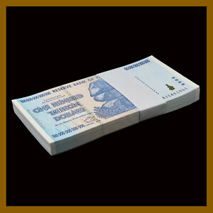 Zimbabwe 100 Trillion Dollars 2008 P-91 AA PMG 66 EPQ {Low Serial Number}