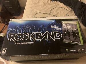 Rock Band Beatles special vaule edition xbox 360 Please Read Description No Game