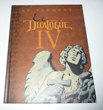 Edition Originale GLENAT  LE DECALOGUE  Tome 4    DEC9