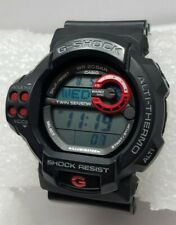 Casio G-Shock 3255 GDF-100-1A Twin Sensor Alti-Thermo 55mm Watch - Black/Red