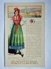 ASPIRINA BAYER Genova lanterna vecchia cartolina