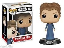 Figura vinile Princess Leia Star Wars VII Pop Funko bobble-head Vinyl figure 80