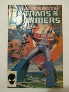Marvel The Transformers  1984 Vol 1 #1