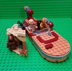 LEGO STAR WARS LUKE SKYWALKER'S LANDSPEEDER 75271 100% COMPLETE SET w/MINIFIGS