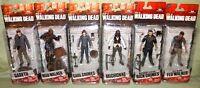 McFarlane Walking Dead AMC TV Series 7 SET; MICHONNE CARL RICK GARETH MUD FLU