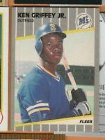 1989 Fleer Baseball - #548 Ken Griffey Jr RC - Seattle Mariners - nrmt/mint cond