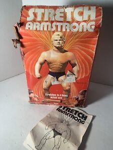 Rare Vintage 1976 Stretch Armstrong Original Box And Instructions NO FIGURE