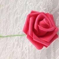 PE Foam 10 Heads Artificial Fake Rose Flower Bride Bouquet Wedding Decor Handy