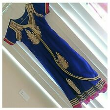 Pakistan Indian Rhinestone Dress