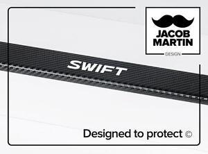 CARBON Battitacco Adesivi Coperture per le soglie Suzuki SWIFT V (2010-2017)