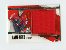 ITG FINAL VAULT 13/14 HEROES & PROSPECTS GAME JERSEY JONATHAN DROUIN 1/1 *67382