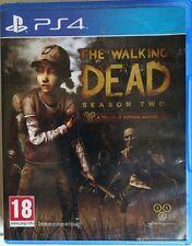 The Walking Dead. Season Two. A Telltale Games Series. Ps4. Fisico. Pal Es