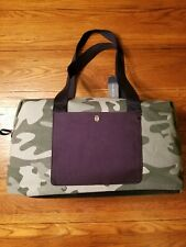 NWT Tommy Hilfiger Weekender Large Duffle Travel Bag Camo Military Army Green