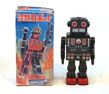 1960s Tin Japan Horikawa DINO ROBOT Original with Box Godzilla WORKS!!