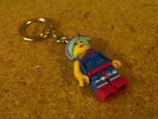 Lego Minifig City Key Chain Key Ring Flashback Lucy Keyring NEW