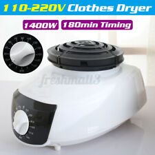 2IN1 Electric Air Clothes Dryer Warm Portable Energy-saving Drying Rotary Knob