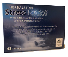 BULK PACK 2 x 48 aiuto a base di erbe memorizzare lo stress ansia ATTACCHI DI PANICO (96 Compresse)