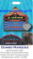 Disney DSSH DSF Magnificent Trading Event Dumbo Marquee Pin LE 300