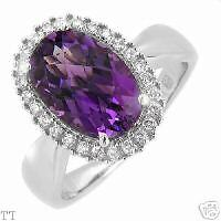 Irresistible Ring With 4.25ctw Precious Stones.