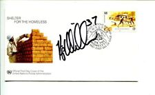 Kip Miller Pittsburgh Penguins NY New York Islanders Signed Autograph FDC