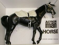 VINTAGE ACTION MAN 40th LOOSE HORSE NO BOX FOR LIFEGUARD BLUES & ROYALS LANCER