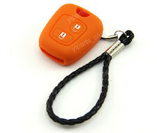 Silicone Shell Case Holder For Peugeot Remote Key 107 207 307 106 206 306 408 C2
