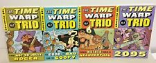 The Time Warp Trio lot of 4 new books paperback set By Jon Scieszka 2095