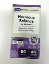 Hormone Balance Chaste Tree Berry Cocoa Bean Rhodiola Ashwagandha Extract 90 ct