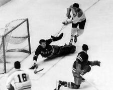 Rangers GUMP WORSLEY vs Canadiens MAURICE RICHARD Glossy 8x10 Photo Print Poster