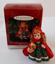 "Hallmark Keepsake Ornament Collector's Series ""Little Red Riding Hood"" New"