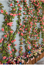 Flowers Rose Rattan 230cm length Flowers for Wedding Romantic Rose In Glass Dome