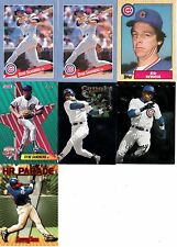 CHICAGO CUBS--Baseball Cards--7 Card Lot--FREE SHIPPING